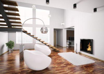 Appartamento ristrutturato con caminetto